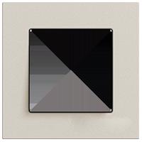 Рамка Esprit Linoleum-Multiplex (светло-серый)