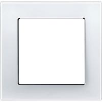 Рамка M-Plan (пластик белый глянцевый)