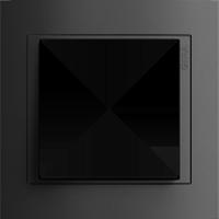Рамка Event (пластик черный/антрацит)