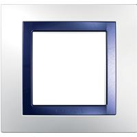 Рамка Unica (пластик белый/индиго)