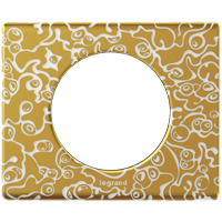 Рамка Celiane Стекло/Фарфор (фарфор/золотая феерия)