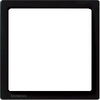 Рамка Delta Style (базальт черный)