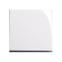 Клавиша E2 (пластик белый глянцевый)