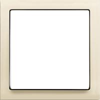 Рамка Future Linear (пластик кремовый глянец)