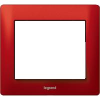 Рамка Galea Life (красный металл)
