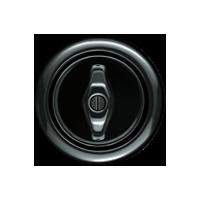 Клавиша Serie 1930 (фарфор черный)