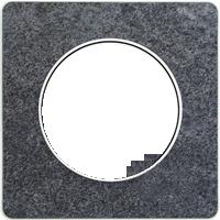 Рамка Odace (черный фосфор)