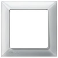 Рамка Delta Line (алюминий металлик)