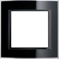 Рамка Event Clear (пластик прозрачный черный-антрацит)