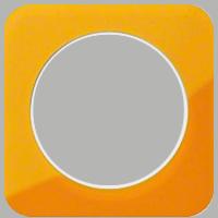 Рамка R1 (акрил оранжевый/белый)