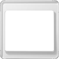 Рамка SL 500 (белое стекло)