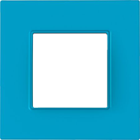 Рамка Unica Quadro (голубика)