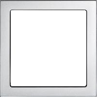 Рамка Future Linear (пластик серебристо-алюминиевый)