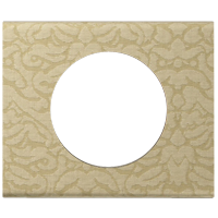 Рамка Celiane Кожа/Текстиль (текстиль орнамент)