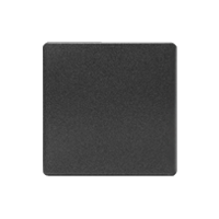 Клавиша Delta Miro Стекло (черный металлик)