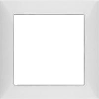 Рамка S.1 (пластик белый матовый)
