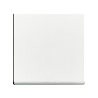 Клавиша Solo (пластик белый глянец)