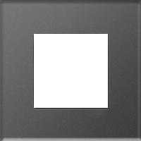 Рамка Niessen Zenit (стекло графит)