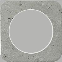Рамка R1 (бетон/белый)
