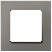 Рамка Delta Miro Металл (титан)