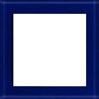 Рамка Aura Glass (синее стекло)