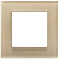 Рамка Delta Miro Стекло (стекло/желтое)