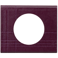 Рамка Celiane Кожа/Текстиль (кожа пурпур)