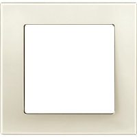 Рамка M-Plan (пластик кремовый глянцевый)