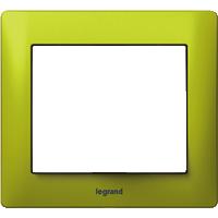 Рамка Galea Life (зеленый металл)