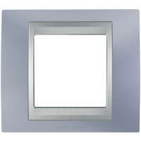 Рамка Unica TOP (металл берилл/алюминий)
