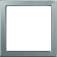 Рамка Pure Сталь (нержавеющая сталь)