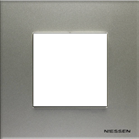 Рамка Niessen Zenit (шампань)