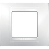 Рамка Unica Хамелеон (пластик белый)