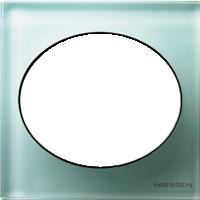 Рамка Tacto (стекло лазурь)