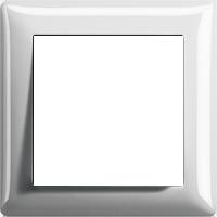Рамка Standard 55 (пластик белый глянцевый)