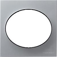 Рамка Tacto (серебристый)