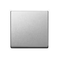 Клавиша M-Elegance Стекло (пластик под алюминий)