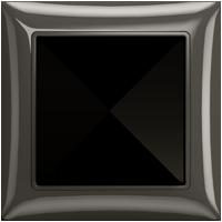 Рамка Basic 55 (шато-черный)