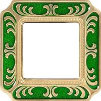 Рамка Smalto Italiano Siena (изумрудно-зеленый)
