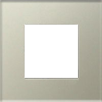 Рамка Niessen Zenit (жемчужное стекло)