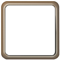 Рамка CD 500 (светлая бронза)
