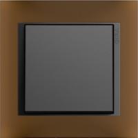 Рамка Event Opaque (пластик матово-коричневый/антрацит)